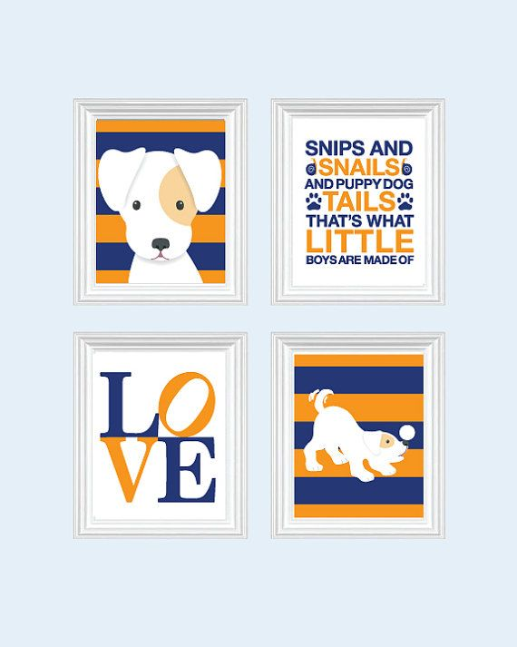 Lambs And Ivy Bow Wow Wall Decor.Lambs Ivy Bow WOW Buddies Pennant ...