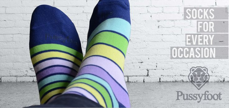 Love odd socks well you will love the new Pussyfoot Mismatch range