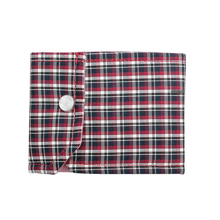 Discover the Chic and Original Tartan Cuff WALLET by NATI CON LA CAMICIA at WWW.FINAEST.COM | #finaest #naticonlacamicia #wallet #gift #style #tartan #portafoglio #cuff #shirt #musthave