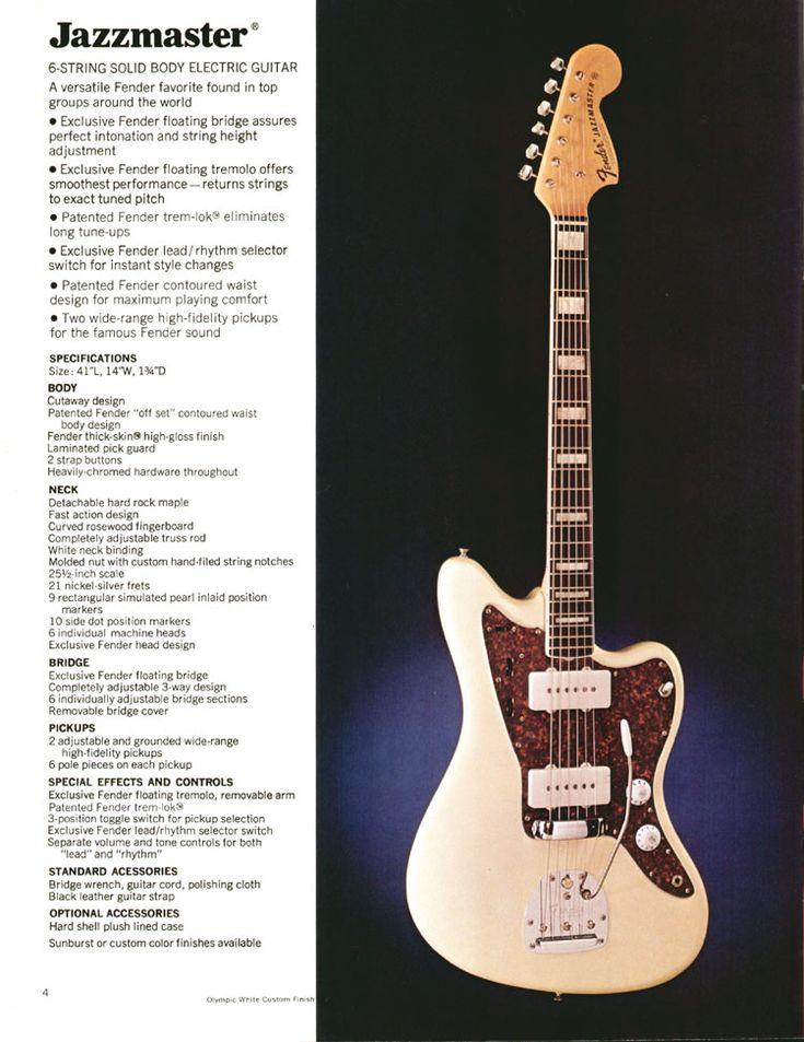 The Fender Jazzmaster