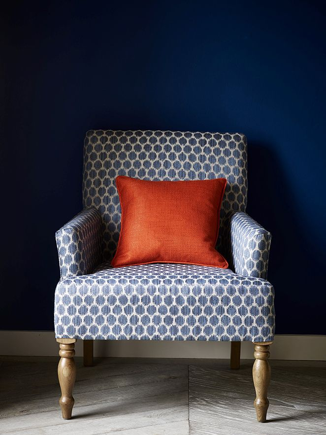 Jane Churchill's Havana Collection chair for living room idea