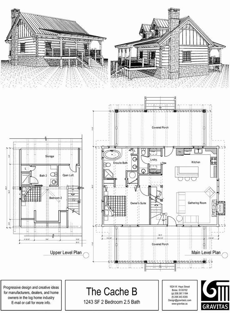 Image result for 2 bedroom cabin plans with loft Cabin