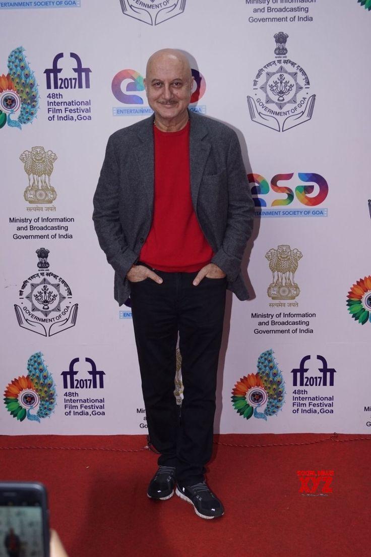 Panaji: IFFI 2017  Anupam Kher - Social News XYZ