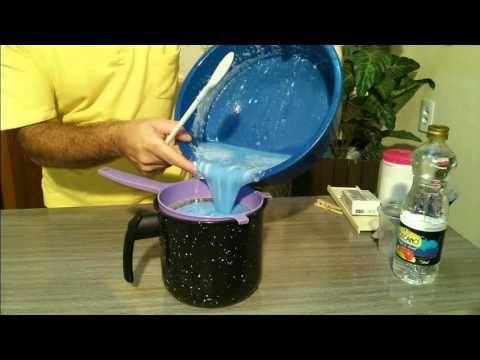 Como fazer super Sabão gelatinoso para lavar Roupas - YouTube