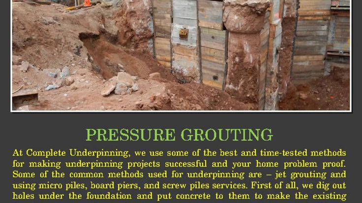 Complete Underpinning Murrumbeena is the answer! Complete #Underpinning #Melbourne provide professional Reblocking, Restumping, Slab Jacking and Soil Stabilisation services.