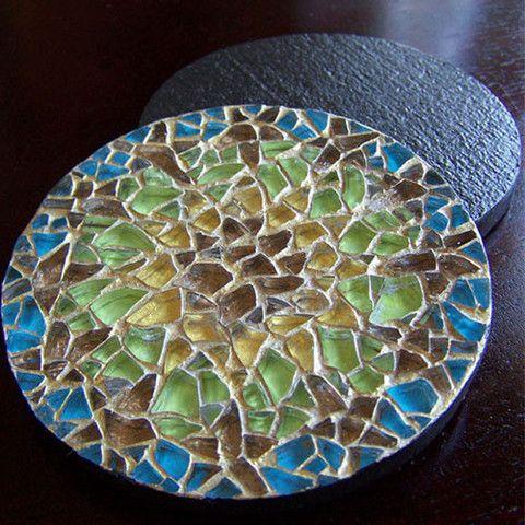 handmade Alhambra coaster set- my urbanware