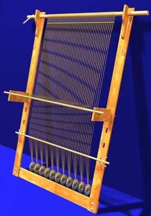 Gewichtswebstuhl (вертикальный ткацкий станок). Обсуждение на LiveInternet - Российский Сервис Онлайн-Дневников