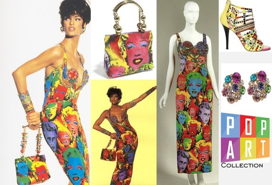 POp art, Versace