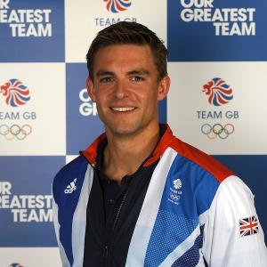 Olympic spirit, strike getoutofhere. Pete Reed, rowing.
