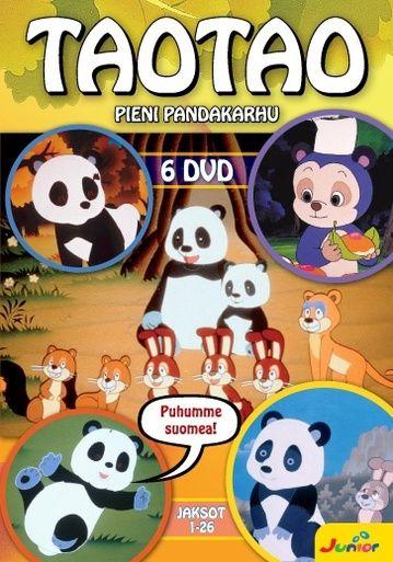 Taotao keräilyboksi sisältää jaksot 1-26 kuudella DVD:llä. Puhumme suomea!