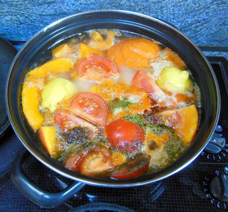 Eten volgens de vijf elementen: kleurige pompoensoep