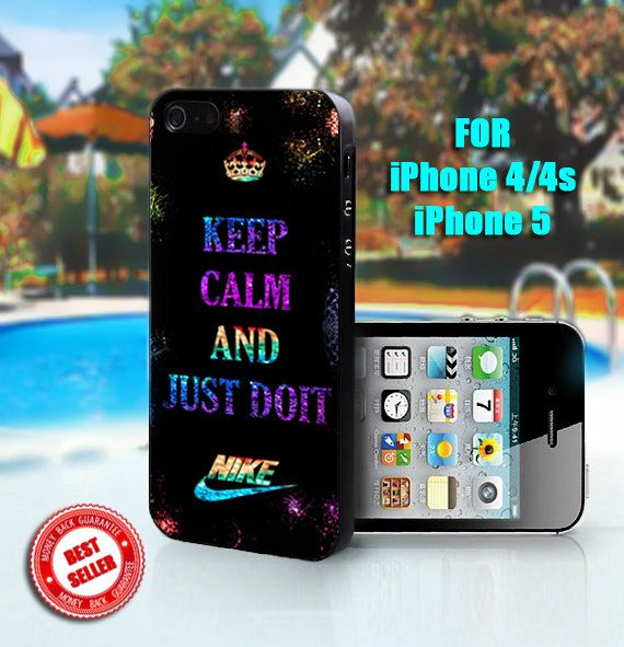 Keep Calm And Nike Just Do It - Print on Hard Case
