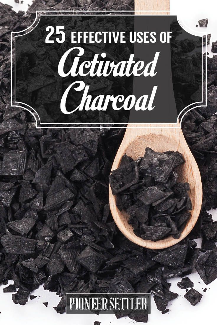 25 Effective Uses of Activated Charcoal | Everything from practical use like bug bit salves, and bloating relief, to the fun stuff like beauty recipes and charcoal cocktails by Pioneer Settler at http://pioneersettler.com/activated-charcoal-uses/