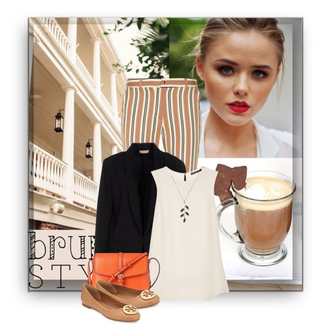 """""""Brunch With Friends"""" by fashionbrownies ❤ liked on Polyvore featuring Lancôme, SUNO New York, Maesta, Theory, L.K.Bennett, Tory Burch and brunch"""