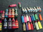 65 bottle lot Tulip Fabric Paint Tubes sparkles puffy 50% - 90% full polymark - Bottle, fabric, FULL, Paint, Polymark, Puffy, SPARKLES, Tubes, Tulip