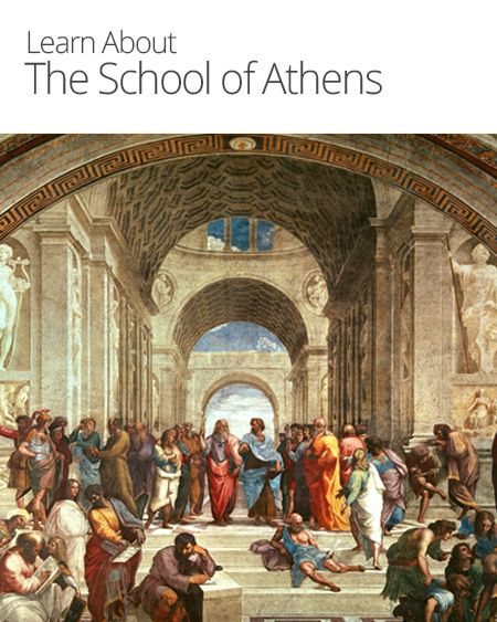 Socrates Plato Aristotle Painting