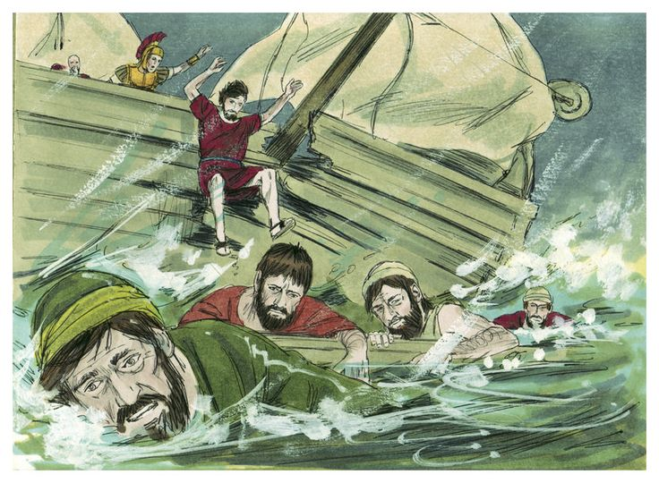 These are free Bible illustrations for the book of Acts