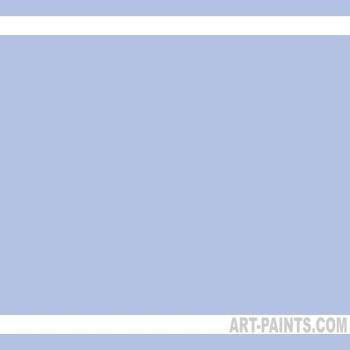 Light Periwinkle Paint With White And Silver Accents For