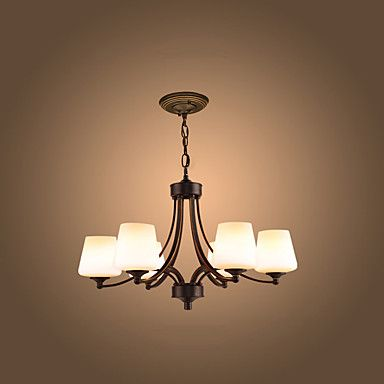 Takmonteret ,  Moderne / Nutidig Vintage Maleri Funktion for LED Metal Stue Soveværelse Spisestue Læseværelse/Kontor Entré