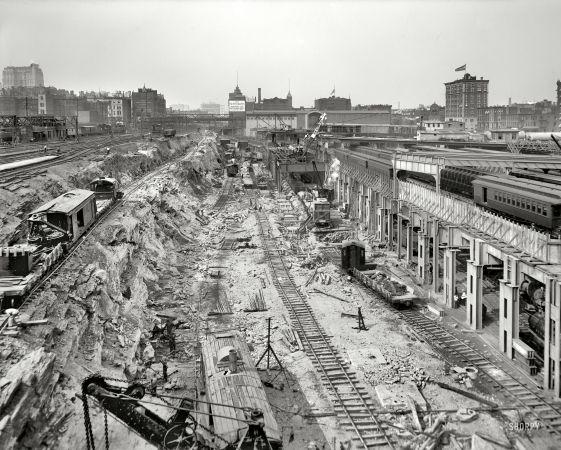 Grand Hotel Railroad Terminal Detroit Michigan