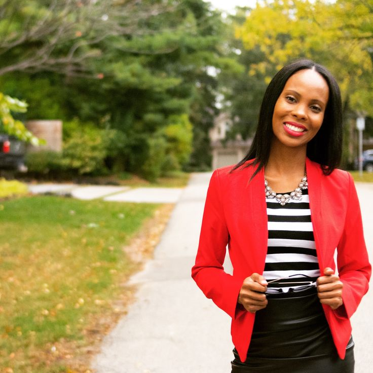 How To Series: Style A Red Blazer