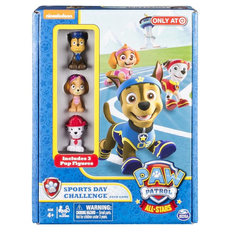 Paw Patrol Run to the Rescue Board Game