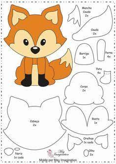 Resultado de imagem para free foxy tutorial cake
