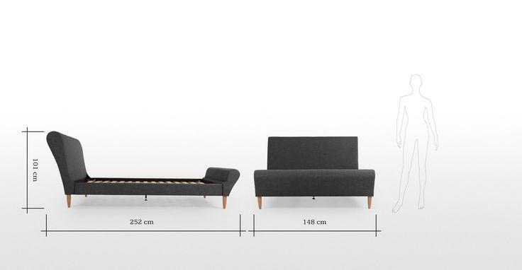 Orla Doppelbett (140 x 200 cm) ► Entdecke moderne Designmöbel jetzt bei MADE.