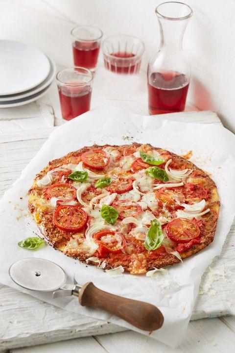 Hackfleisch-Pizza ohne Teig