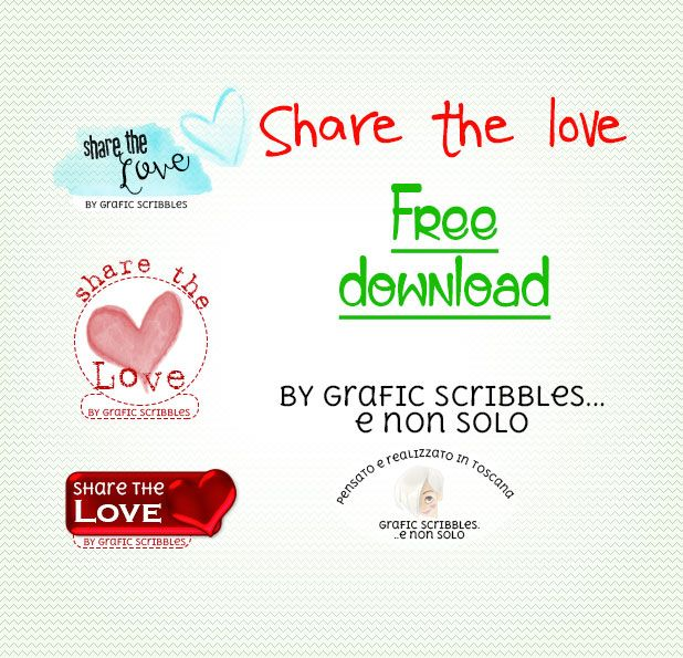 Share the love - Free Download ~ Grafic Scribbles