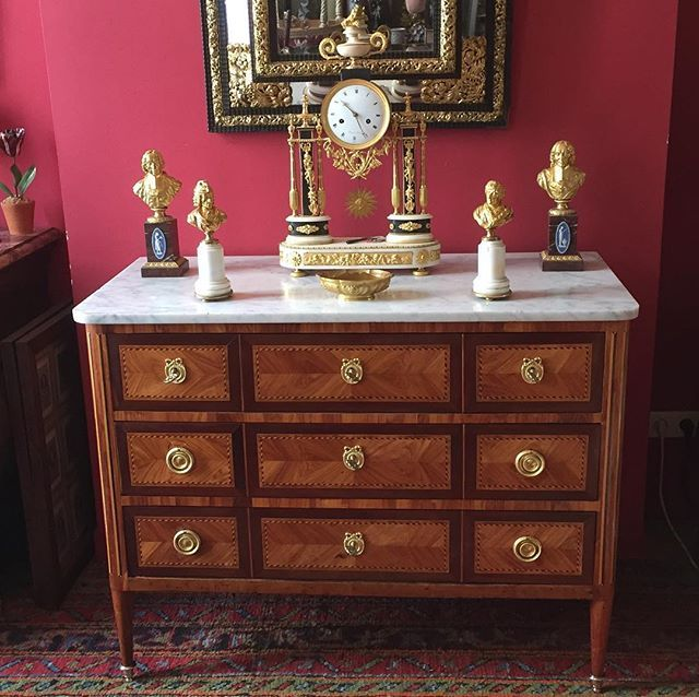 Pin By Clery Antiques On Hot Schmaltz Dresser As Nightstand Antique Dresser Antiques