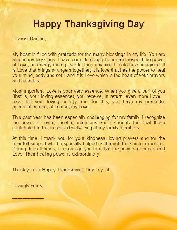 Thanksgiving Letters For Him Boyfriend Thanksgiving Love