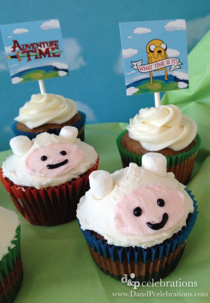 Adventure Time Finn Cakes on www.dandpcelebrations.com