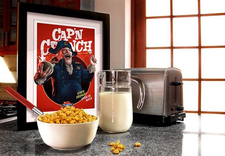 Capitán Crunch. del peruano Guillermo Fajardo