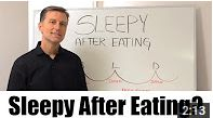 In this video, Dr. Berg discusses what causes you to feel sleepy after eating.   https://www.youtube.com/watch?v=052YbMQhgTs