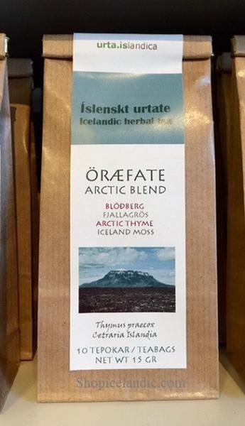 Arctic Blend - Öræfate - Herbal Tea  Blóðberg fjallagrös and Arctic Thyme Iceland moss  50% Thymus praecox 50% Cetraria Islandia