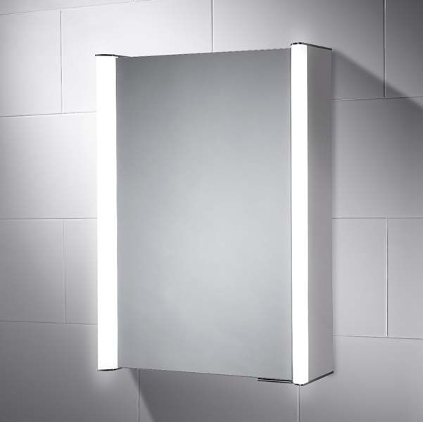 Georgia Led Illuminated Bathroom Cabinet Mirror With Shaver Socket Illuminated Bathroom Cabinets Bathroom Cabinets Mirror