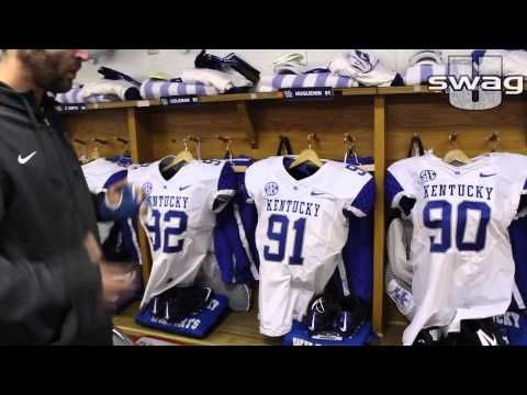 UniformSwag takes an inside look at Kentucky's football equipment at the Kentucky vs Tennessee game in Knoxville, TN #UniSwag.   source   ...Read More
