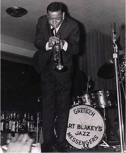 Lee Morgan, playing with Art Blakey & The Jazz Messengers