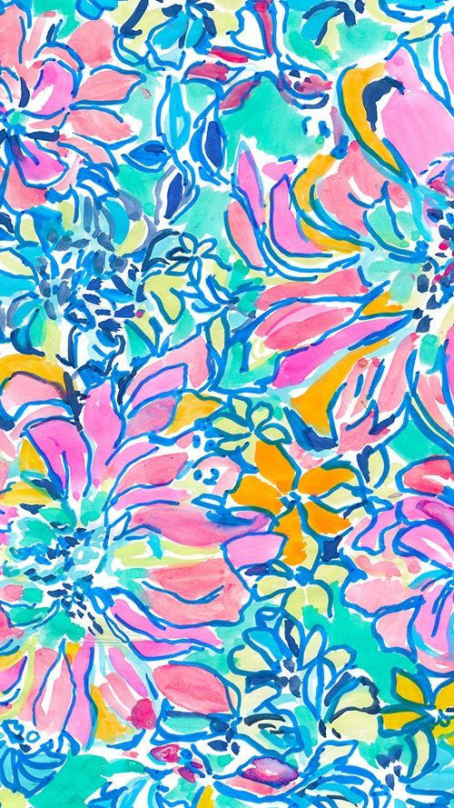 25 best ideas about lilly pulitzer patterns on pinterest - Lilly pulitzer iphone wallpaper ...