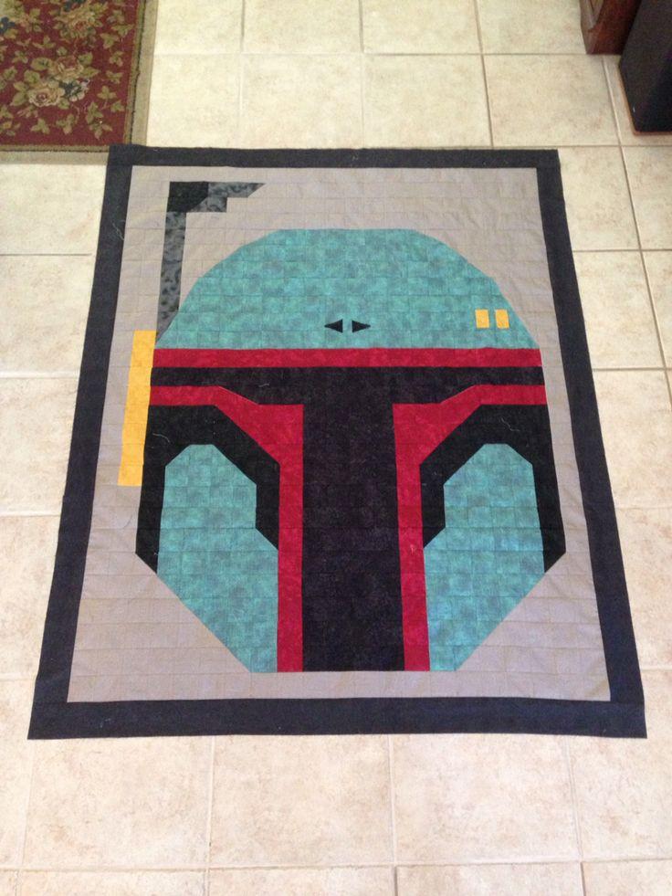 Star Wars Boba Fett quilt