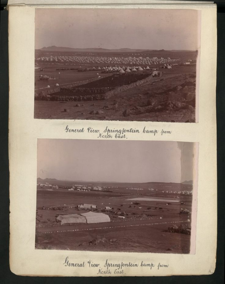 General View. Springfontein Camp from North East.