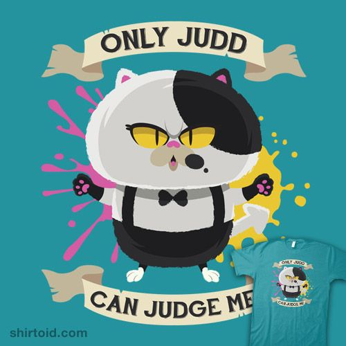 """""""Only Judd Can Judge Me"""" by Mdk7 #Splatoon"""