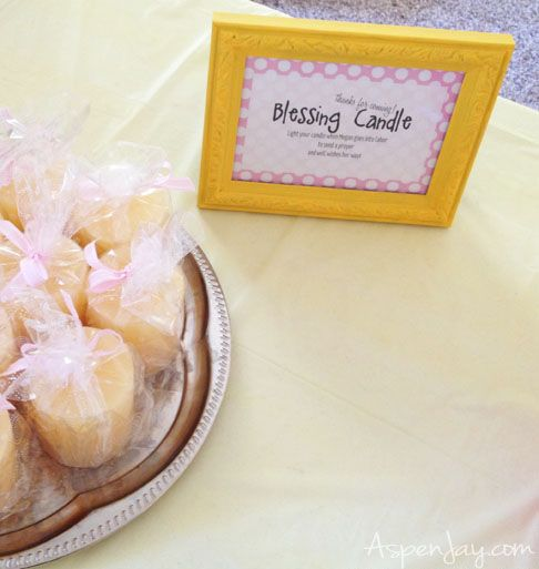 Yellow Pink Baby Shower W Printable Games