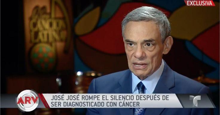 José José asegura que se redujo su tumor en el páncreas (VIDEO) #Farándula #cancer #cantante #JoseJose