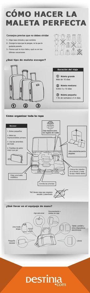 ¿Cómo hacer bien la maleta? Te damos consejos para hacer la maleta y los mejores trucos para un ¡equipaje de 10!