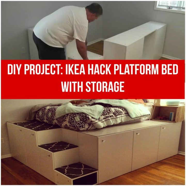 He Purchased Ikea Kitchen Cabinets And Built Something For His