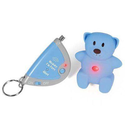 Child Locator Alert Blue