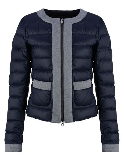 #HOGAN Women's Spring - Summer 2013 #collection: short down #jacket in high-tech fabric, padded with ultralight goose down.