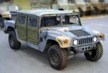 Shott's Military Hummer Vehicles